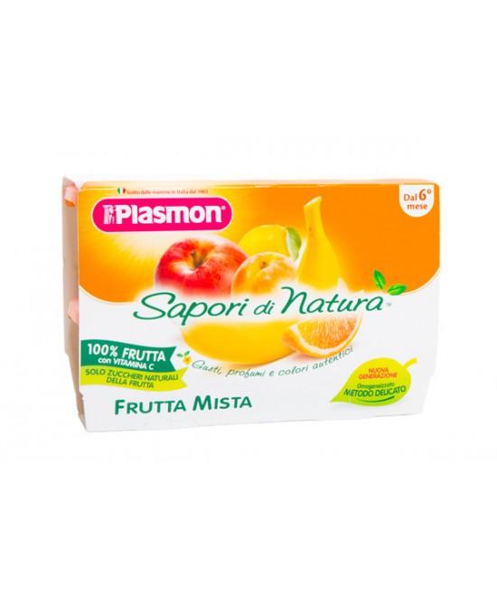 Plasmon Sapori Di Natura Omogeneizzato Frutta Mista 4x100g - Farmacia 33