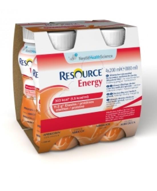 Resource Energy Bevanda Cioccolato 4 x 200 ml - Farmalilla