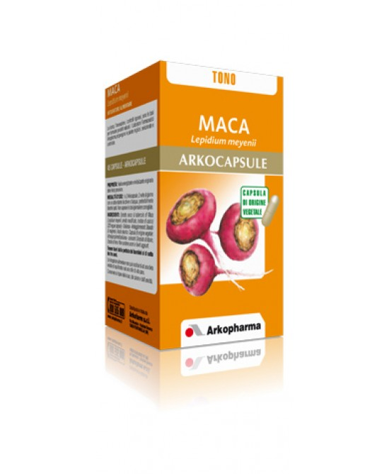 Arkopharma Maca Arkocapsule Integratore Alimentare 45 Capsule - Parafarmaciabenessere.it