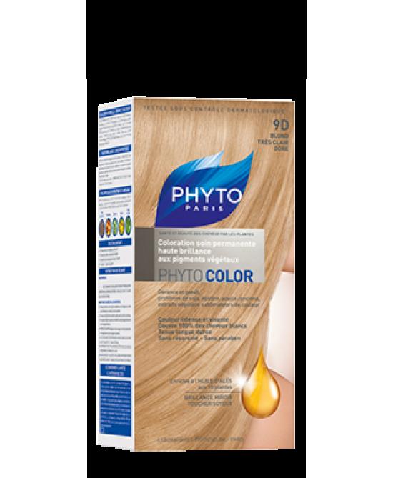 Phyto Phytocolor 9d Biondo Miele Colorazione Permanente - Farmacia 33