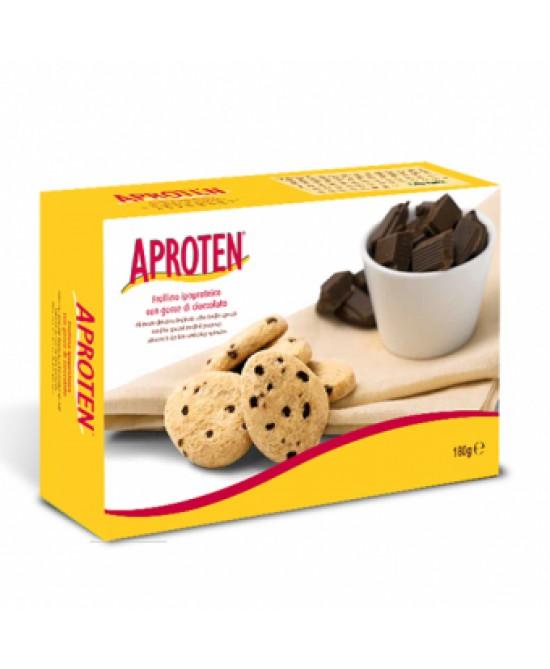 Aproten Frollini Con Gocce Di Cioccolato Ipoproteici 180g - farma-store.it