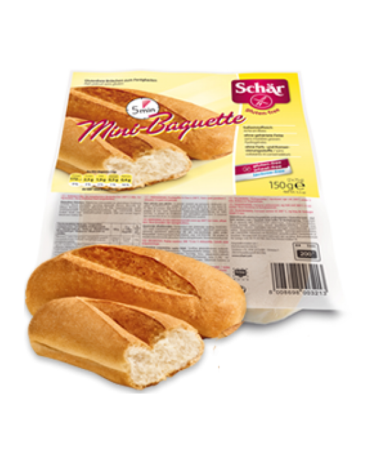 Schar Duo Mini-Baguette Senza Glutine 150g (2x75g) - Zfarmacia