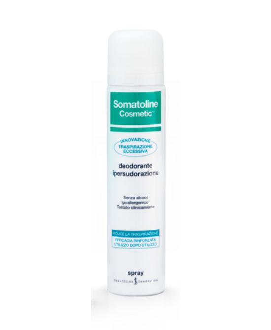 Somatoline Cosmetic Deodorante Ipersudorazione Spray 75ml - Zfarmacia