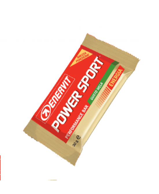 Enervit Power Sport Double Cacao E Mela Barretta Energetica 30g - FARMAEMPORIO