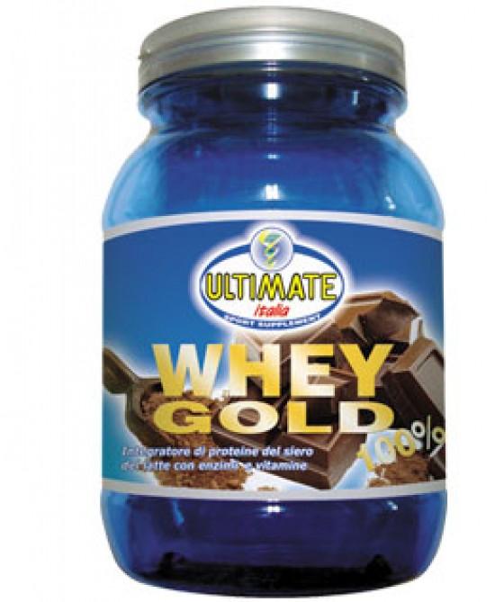 Ultimate Whey Gold 100% Integratore Alimentare Gusto Cacao 750g - Farmajoy