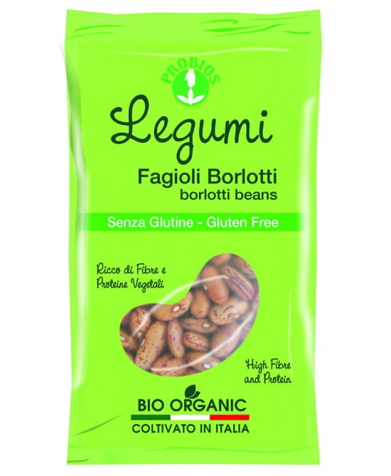 Probios Legumi Fagioli Borlotti Biologici 400g - FARMAEMPORIO