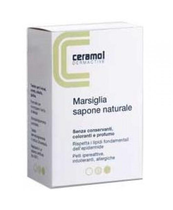 Ceramol Sapone Marsiglia 100g - Zfarmacia