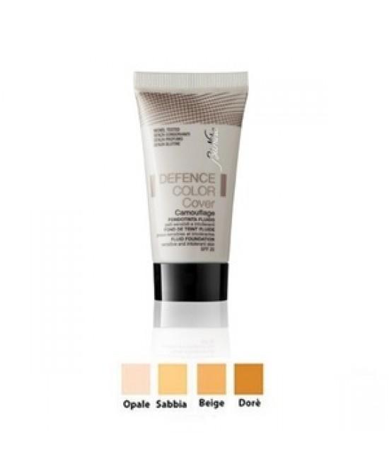 BioNike Defence Color Cover Fondotinta Fluido Correttivo Tonalità 02 Sabbia 30ml - Farmacia 33