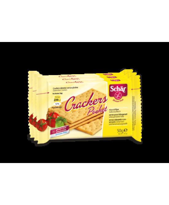 Schar Crackers Pocket Senza Glutine 150g (3x50g) - Zfarmacia