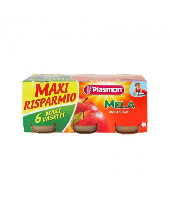 Plasmon Omogeneizzato Di Frutta Mela 6x104g - Farmaciaempatica.it
