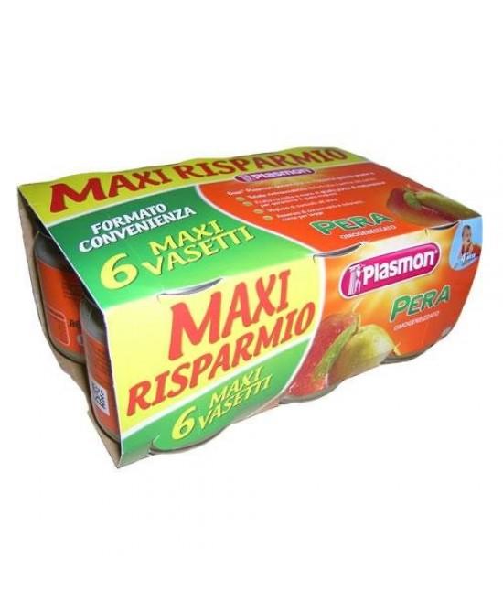 Plasmon Omogeneizzato Di Frutta Pera 6x104g - Farmaciaempatica.it