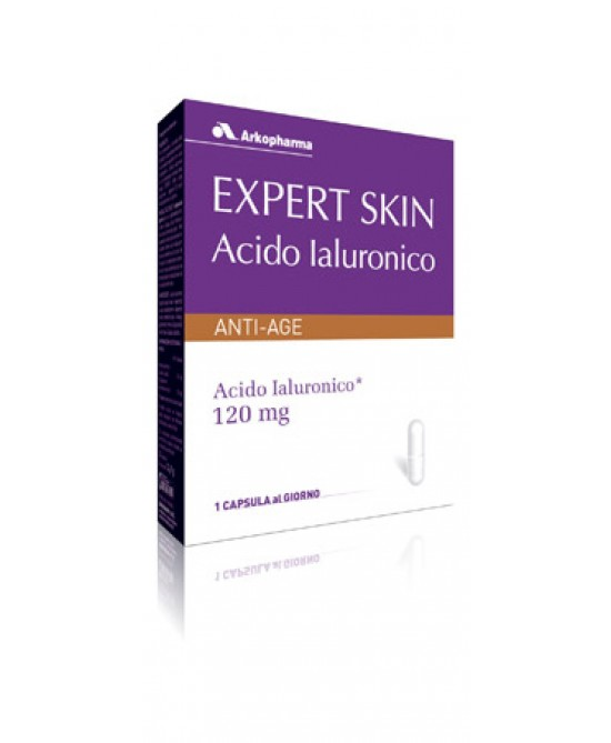 Arkopharma Expert Skin Acido Ialuronico Integratore Alimentare 30 Capsule - Parafarmaciabenessere.it