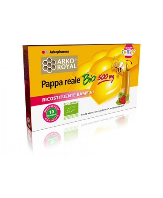 Arkopharma Pappa Reale Bio 500 mg 10 Fiale - La tua farmacia online