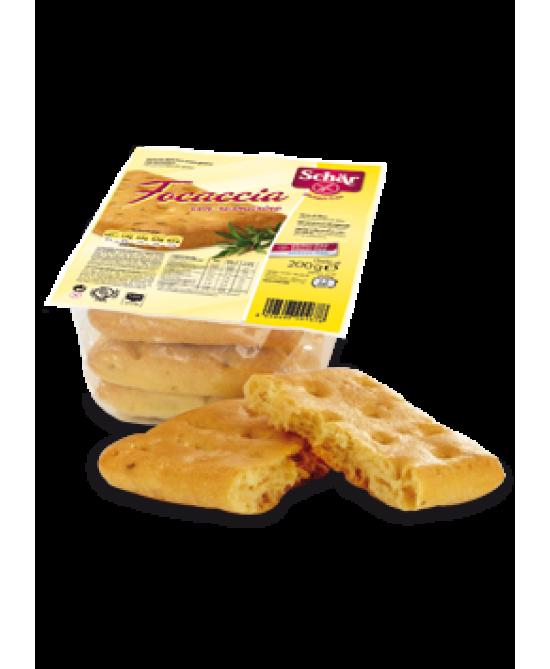 Schar Focaccia Senza Glutine Con Rosmarino 200g - Zfarmacia