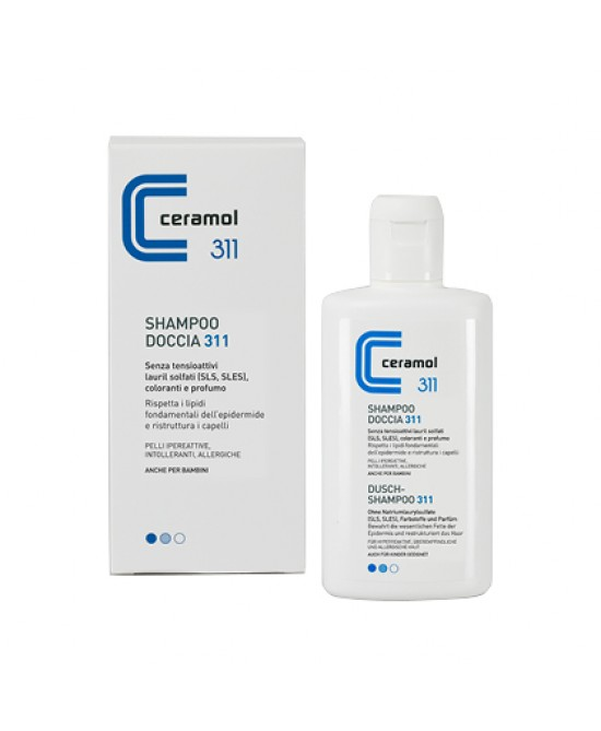 Ceramol Shampoodoccia 200ml - Farmastar.it
