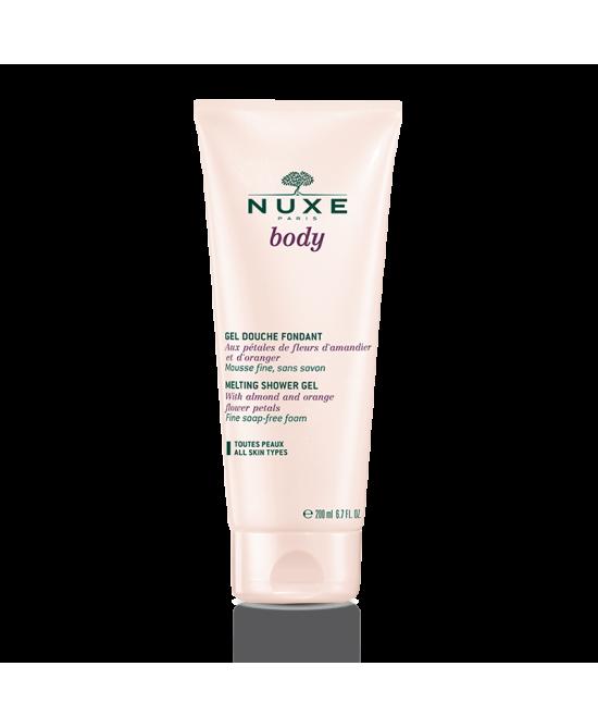 Nuxe Body Gel Douche Fondant Detergente Doccia Fondente Senza Sapone 200ml - La tua farmacia online