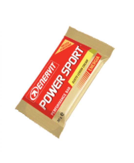Enervit Power Sport Double Lemon Cream Barretta Energetica 30g - Farmastar.it