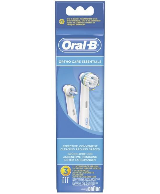 Oral-B Testine di Ricambio Per Spazzolino Elettrico Ortho Care Essentials - Farmaciasconti.it