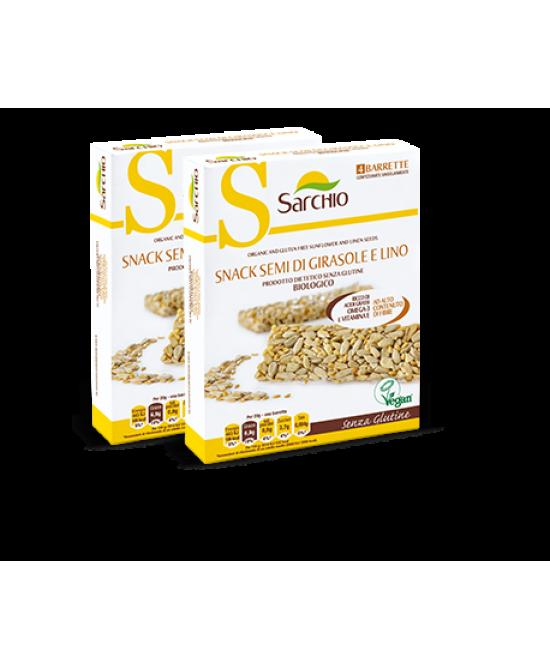 Sarchio Snack Semi Di Girasole E Lino 80g - Zfarmacia