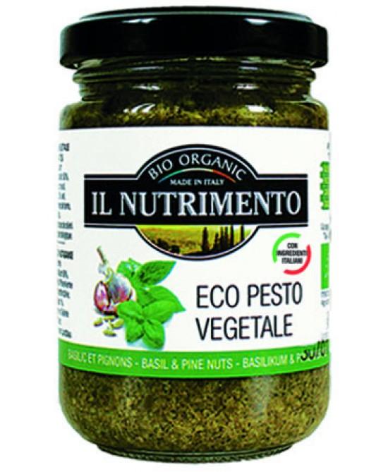 Il Nutrimento Eco Pesto Vegetale Biologico 130g - FARMAEMPORIO