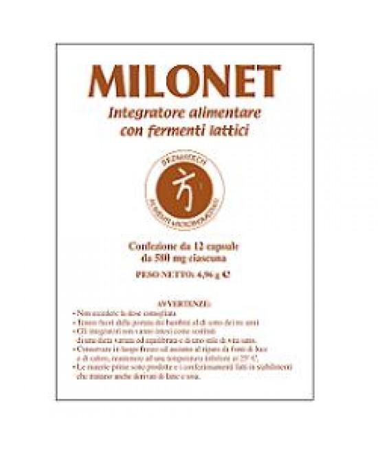 Milonet 12cps - Farmacia 33