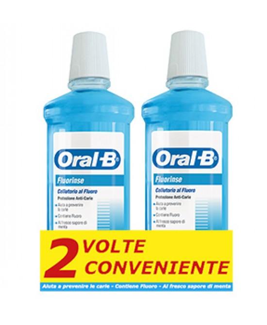 Oral-B Fluorinse Collutorio 2x500ml - Farmaciasconti.it