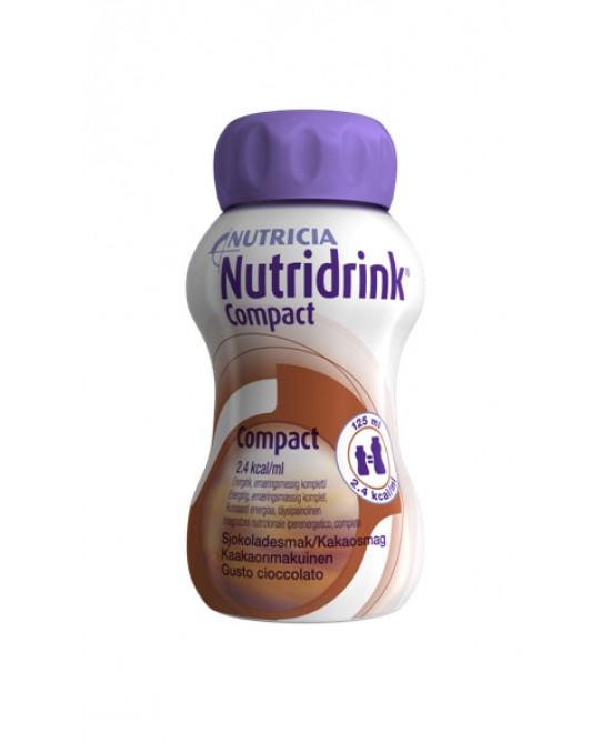 Nutridrink Compact Gusto Cioccolato 4 x 125 ml - Farmalilla