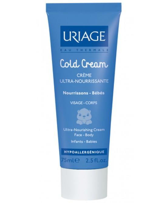 Uriage Cold Cream Tranttamento Ultra Nutriente Per Bimbi 75ml - Farmamille