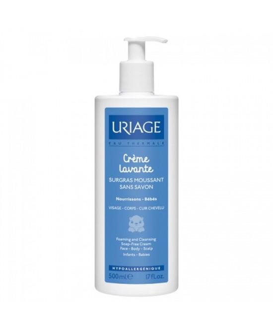 Uriage Crème Lavante Baby Trattamento Delicato Senza Sapone 500ml - Farmamille