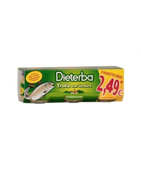 Dieterba Omog Trota 3pz 80g - Farmastar.it