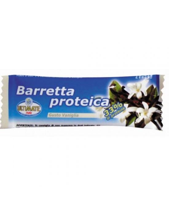 Ultimate Barretta Proteica Gusto Vaniglia 45g - Farmajoy