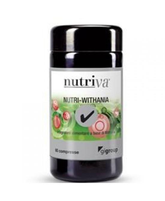Nutriva Nutri Withania 60cpr - FARMAEMPORIO