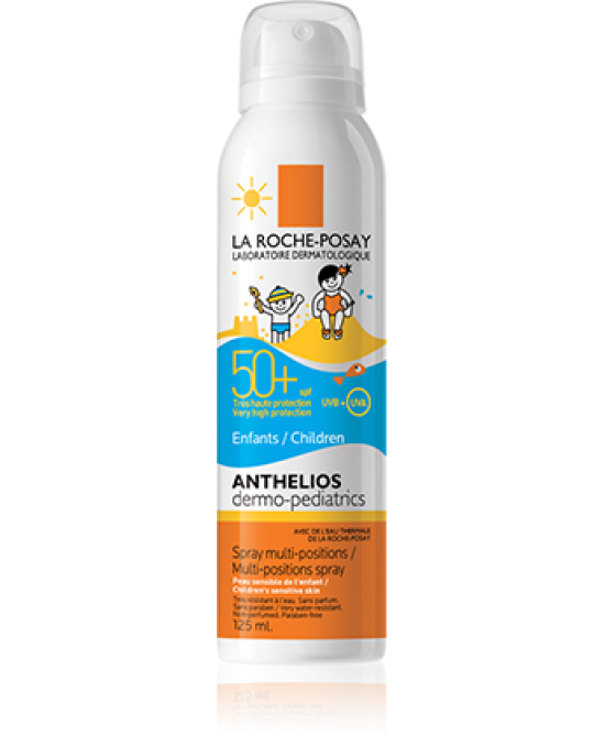 LA ROCHE-POSAY SOLARI ANTHELIOS DERMO-PEDIATRICS SPF 50+ SPRAY MULTI-DIREZIONE 125 ML - Farmastar.it