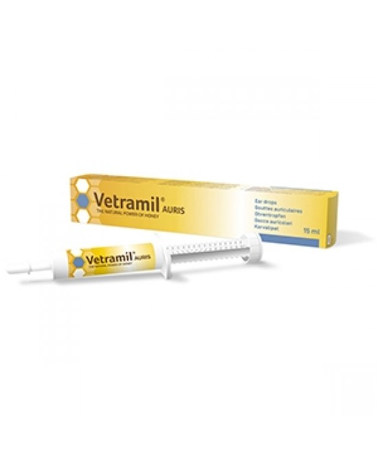 Vetramil Auris Fluido Lenitivo Uso Veterinario 15ml - Farmastar.it