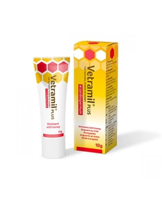 Vetramil Plus Pomata Uso Veterinario 10g - Farmastar.it