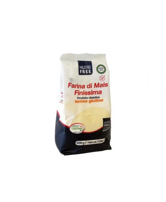 Nutrifree Farina Di Mais Finissima Senza Glutine 500g - FARMAEMPORIO
