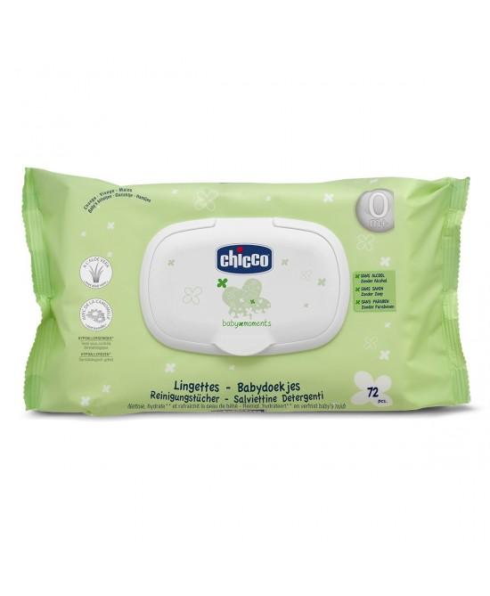 Chicco Salviettine Detergenti 72 Pezzi - farma-store.it