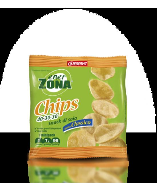 Enervit EnerZona Chips 40-30-30 Gusto Classico 1 Busta 23g - La tua farmacia online