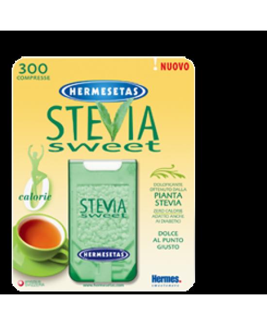 Hermesetas Steviasweet 300 Compresse - Zfarmacia