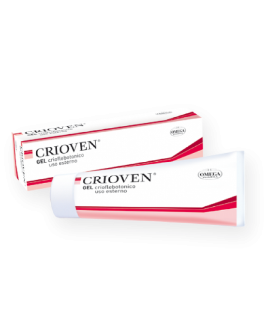 Omega Pharma Crioven Gel 120ml - Farmacento