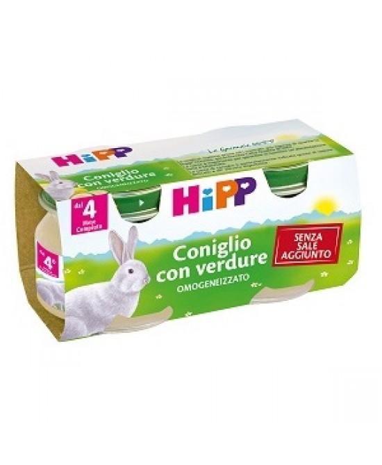 HiPP Omogeneizzato Coniglio Con Verdure 2x80g - Farmacia 33