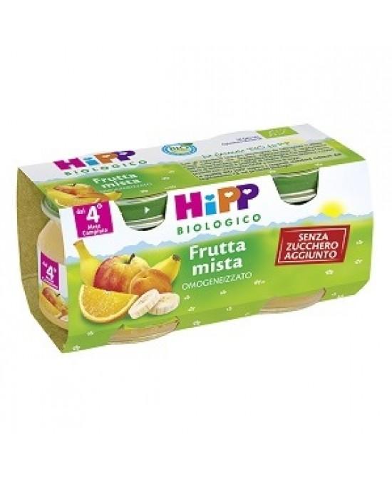 HiPP Bio Omogeneizzato Frutta Mista 2x80g - Zfarmacia