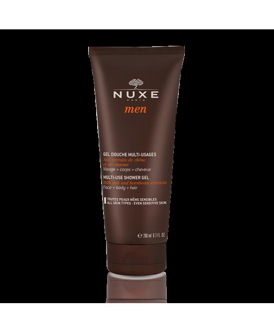 Nuxe Men Gel Douche Multi-Usages Detergente Doccia Uomo Multi-Uso 200ml - FARMAEMPORIO