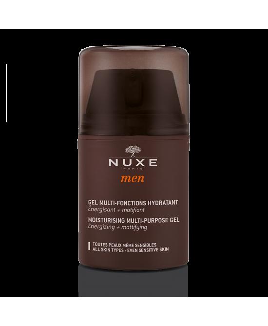 Nuxe Men Gel Multi-Fonctions Hydratant Trattamento Viso Idratante Uomo 50ml - FARMAEMPORIO