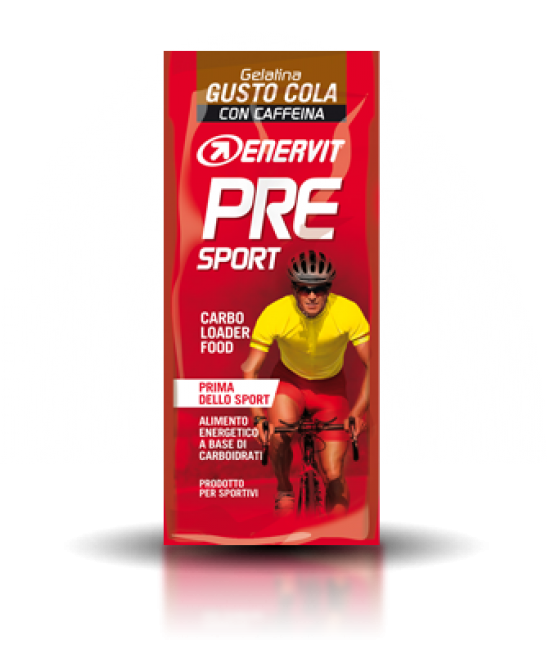 Enervit Pre Sport Gusto Cola Busta Gelatina da 45g - La tua farmacia online