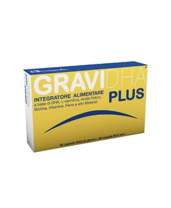 AvantGarde Gravidha Plus Integratore Alimentare 30+30 Capsule - La tua farmacia online