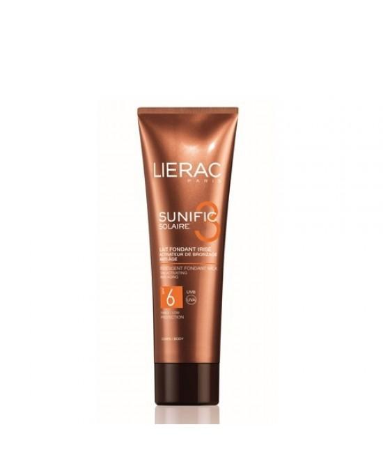 Lierac Sunific 3 Latte Ricco Iridescente Spf6 125ml - Farmacia 33