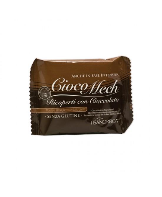 Tisanoreica Style Cioco Mech 9 Biscotti al cacao ricoperto di cioccolato fondente - La tua farmacia online