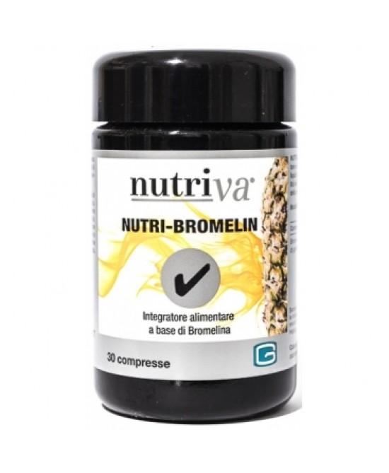 Nutriva Nutri-Bromelin Integratore Alimentare 30 Compresse - Farmacia 33