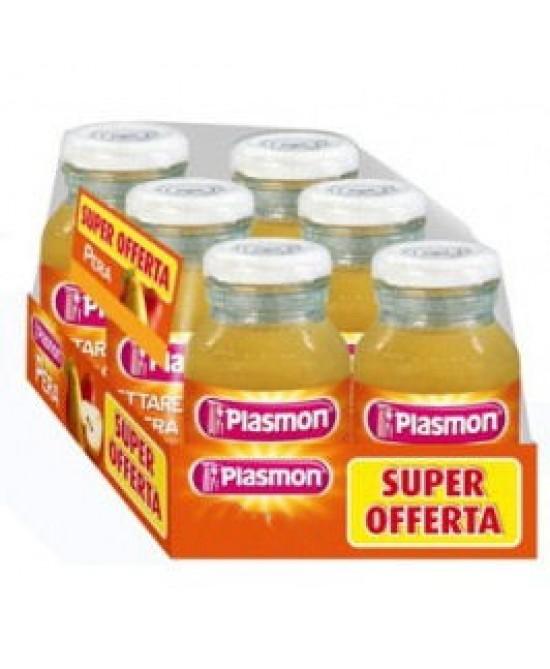 Plasmon Nettare Di Frutta Mela 6x120ml - Parafarmaciabenessere.it